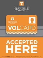 Vol Card Accepted Here